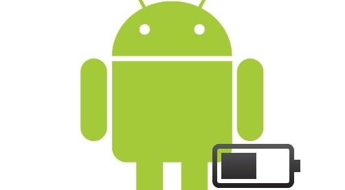 android и батарейка